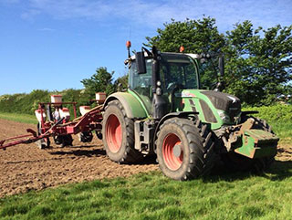 Burnell Contracting Grounds - fendt